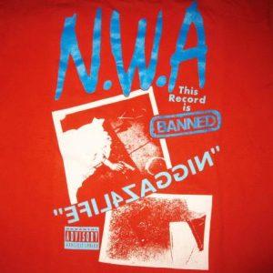 1991 NWA NIGGAZ4LIFE VINTAGE LONG SLEEVE T-SHIRT