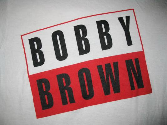 "1992 BOBBY BROWN ""BOBBY"" VINTAGE T-SHIRT"