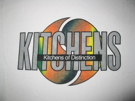 1989 KITCHENS OF DISTINCTION VINTAGE T-SHIRT