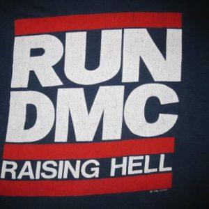 1986 RUN DMC RAISING HELL VINTAGE T-SHIRT HIP HOP