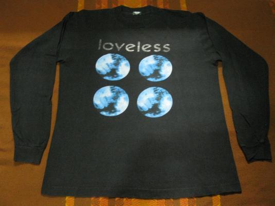 1991 MY BLOODY VALENTINE LOVELESS VINTAGE T-SHIRT BLACK