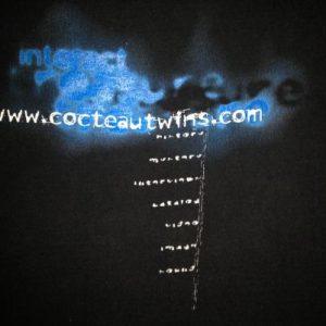 1996 COCTEAU TWINS OFFICIAL WEBSITE VINTAGE T-SHIRT