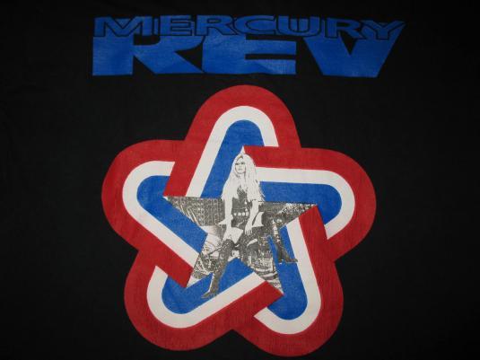 1991 MERCURY REV YERSELF IS FUCKED VINTAGE T-SHIRT
