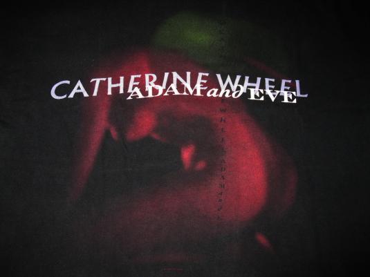 1997 CATHERINE WHEEL ADAM AND EVE VINTAGE T-SHIRT SHOEGAZE