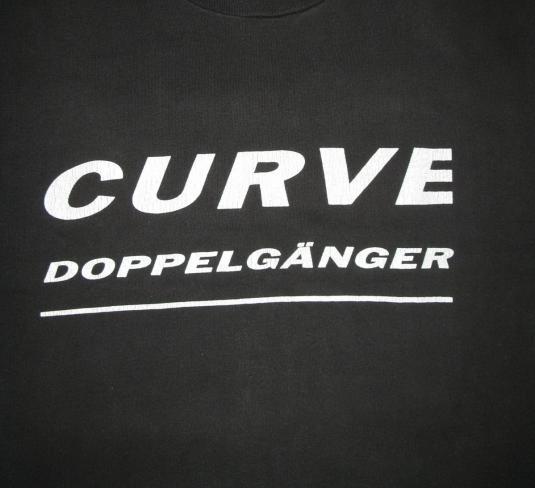 1992 CURVE DOPPELGANGER US TOUR VINTAGE T-SHIRT SHOEGAZE
