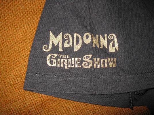 1993 MADONNA GIRLIE TOUR VINTAGE T-SHIRT