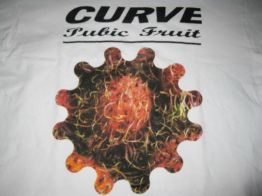 1992 CURVE PUBIC FRUIT VINTAGE T-SHIRT SHOEGAZE