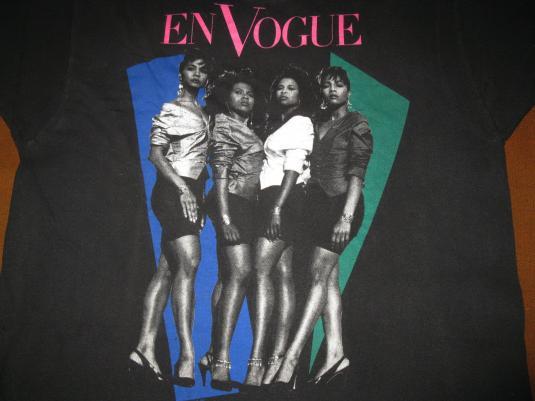 1990 EN VOGUE BORN TO SING VINTAGE T-SHIRT