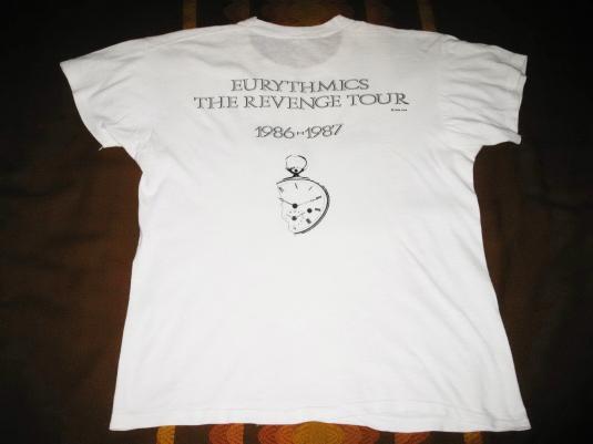 1986 EURYTHMICS REVENGE VINTAGE T-SHIRT