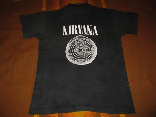 1992 NIRVANA VESTIBULE VINTAGE T-SHIRT SEATTLE