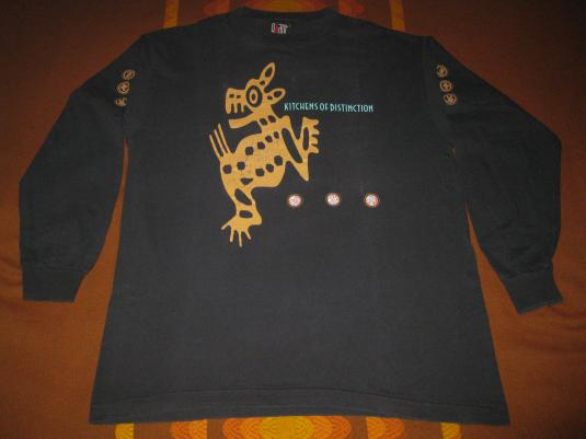 1992 KITCHENS OF DISTINCTION BREATHING FEAR VINTAGE T-SHIRT