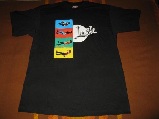 1994 LUSH SPLIT V.2 VINTAGE T-SHIRT SHOEGAZE NOS