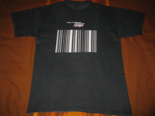 90s GUSGUS THIS IS NORMAL VINTAGE T-SHIRT 4AD ICELAND