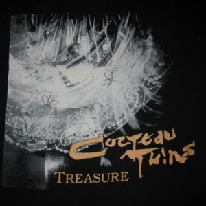 COCTEAU TWINS TREASURE VINTAGE T-SHIRT SHOEGAZE