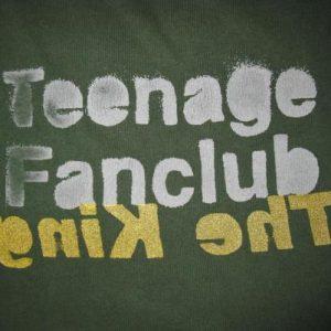 1991 TEENAGE FANCLUB THE KING VINTAGE T-SHIRT CREATION RECS
