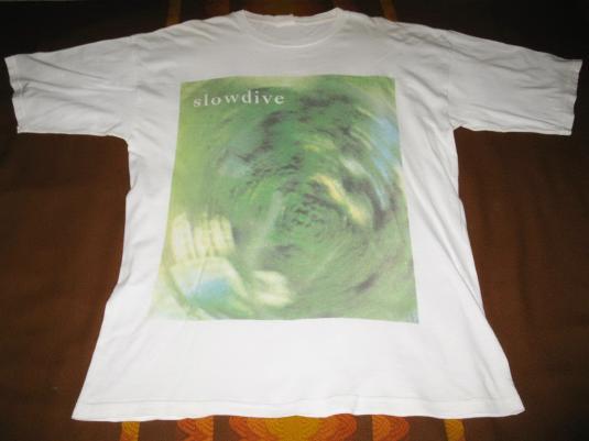 1990 SLOWDIVE EP VINTAGE T-SHIRT SHOEGAZE