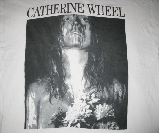 1991 CATHERINE WHEEL SHE'S MY FRIEND VTG T-SHIRT SHOEGAZE