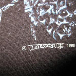 1990 ENTOMBED LEFT HAND PATH VINTAGE T-SHIRT EARACHE RECORDS