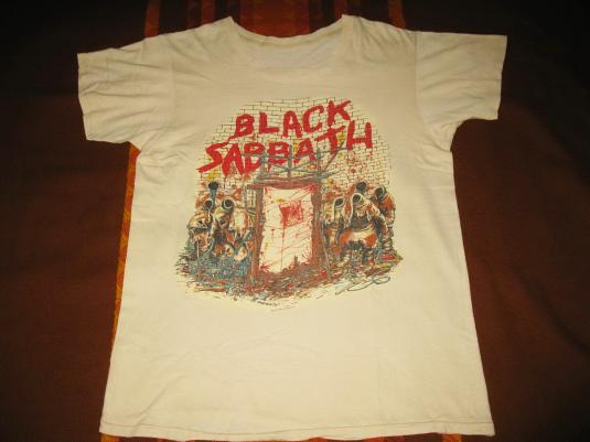 1981 BLACK SABBATH MOB RULES VINTAGE T-SHIRT OZZY OSBOURNE