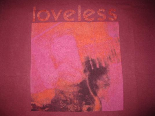 1991 MY BLOODY VALENTINE LOVELESS VINTAGE T-SHIRT LS