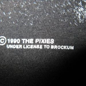 1990 THE PIXIES DEATH TO THE PIXIES VINTAGE T-SHIRT 4AD