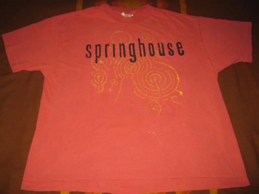 1991 SPRINGHOUSE LAND FALLS VINTAGE T-SHIRT SHOEGAZE