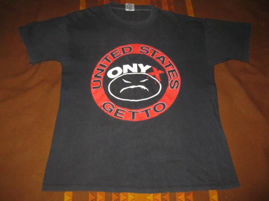 1993 ONYX BACDAFUCUP VINTAGE T-SHIRT