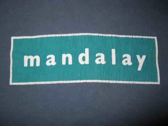 1998 MANDALAY EMPATHY VINTAGE T-SHIRT