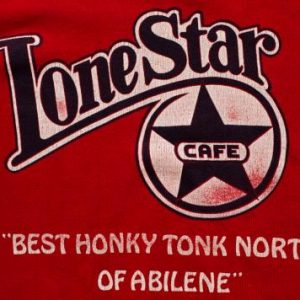 Lone Star Cafe Raglan Sweatshirt, New York City, 80s Country