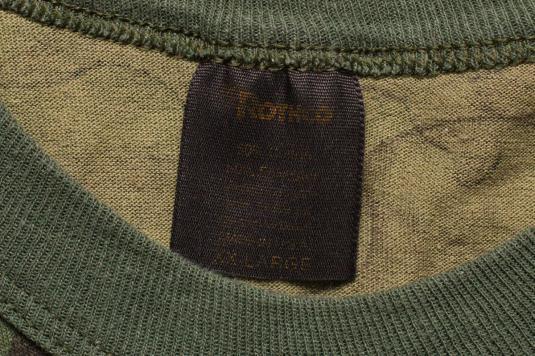 Rothco Camo T-Shirt, Thin 50/50 Tee, 80s Military Camouflage