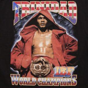 Felix Tito Trinidad T-shirt, IBF Boxing Champion Puerto Rico