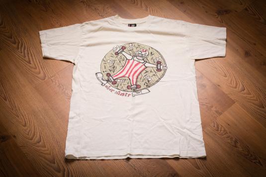 Limp Bizkit Three Dollar Bill Y'all Clown Wheel T-Shirt, 90s