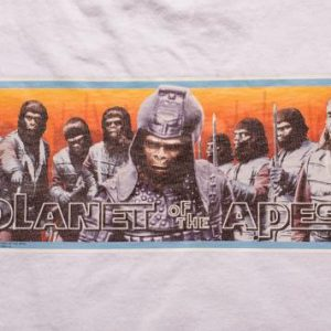 Vintage 1999 Planet of the Apes T-Shirt, 90s Sci-Fi, Changes