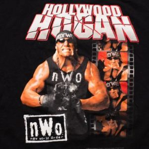 Vintage 90s Hollywood Hogan NWO T-Shirt, Hulk Wrestling