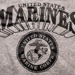 US Marines 3D Raglan Crewneck Sweatshirt, USMC Military