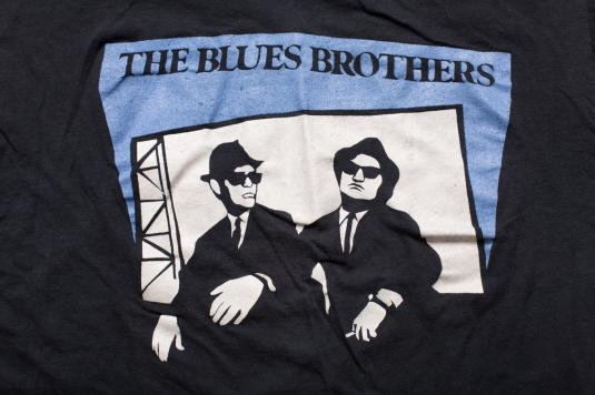 Blues Brothers/Hegewisch Records Chicago T-Shirt Vintage 80s