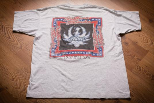 Hank Williams Jr T-Shirt, XL, Southern Thunder Tour, 90s