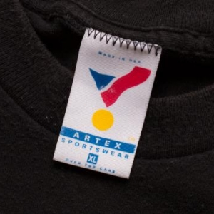 Vintage 90s Pittsburgh Steelers Angry Football Logo T-Shirt