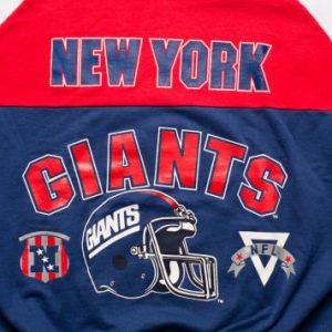 Vintage 80s New York Giants Sweatshirt, NYC NFL Apparel