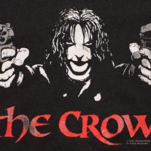 1998 The Crow T-Shirt, Brandon Lee Gun Barrels, James O'Barr
