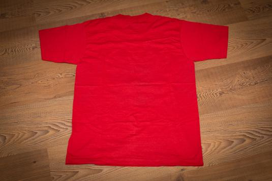 Vintage 80s Detroit Red Wings T-Shirt Norris Division Champs