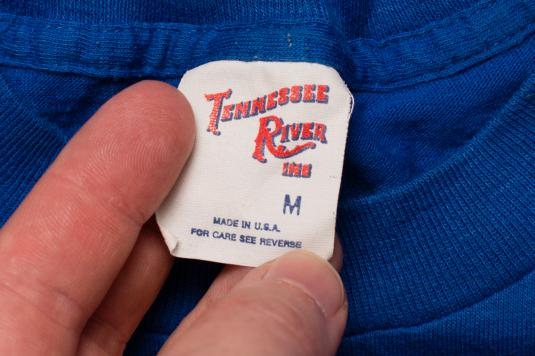 Busch Gardens Logo T-Shirt, Tampa Florida FL Vintage 80s Tee