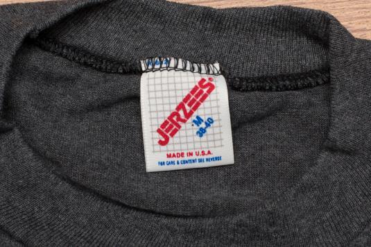 Vintage 80s Michigan Rabbits Woodland Illustration T-Shirt
