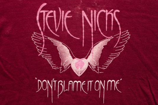 1983 Stevie Nicks Wild Heart T-Shirt, Vtg 80s, Screen Stars