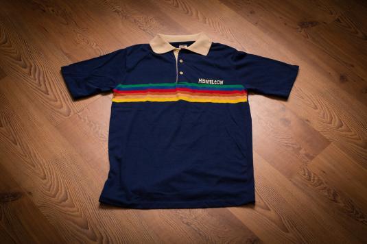 Vintage 80s Hamilton College Polo Shirt, Collegiate Pacific