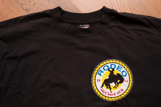 McChord AFB Rodeo T-Shirt, Air Mobility Challenge, Cowboy