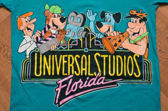 Vintage 90s Universal Studios Florida T-Shirt, Hanna Barbera