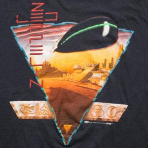 1988 Led Zeppelin T-Shirt, Winterland, Zoso Vintage 80s Rock