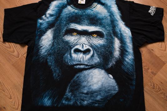 90s Gorilla Busch Gardens T-Shirt, Extinction Is Forever
