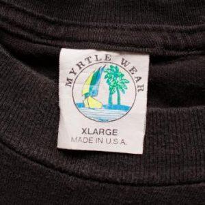 Bald Eagle Graphic T-Shirt, 1995 Bike Week, Daytona Beach FL